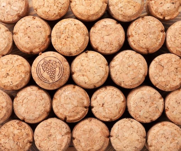 Fondo di struttura dei tappi del vino dello champagne