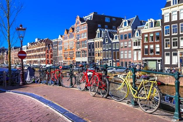 Affascinante capitale di amsterdam.