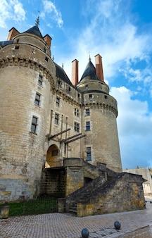 Il castello di langeais, nell'indre-et-loire, francia