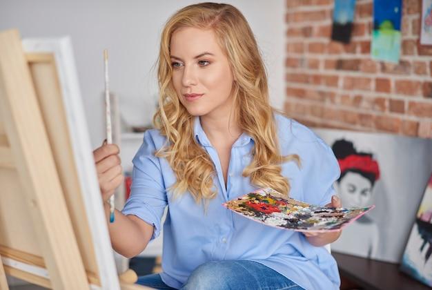 Controllo della prospettiva sul dipinto