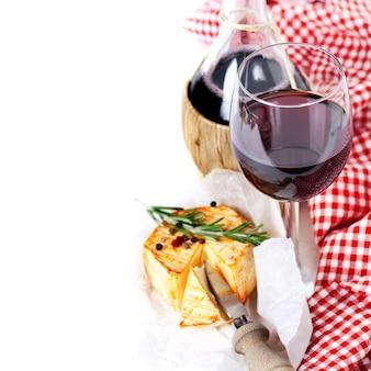 Formaggio e vino
