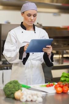 Chef consulenza tablet digitale
