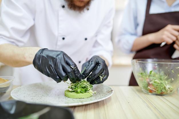Piatti da cucina per chef