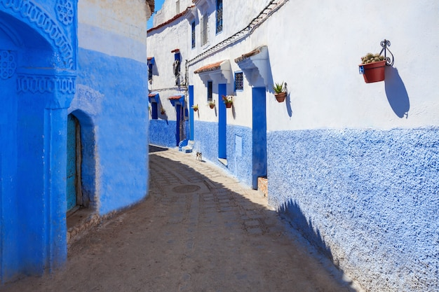 Chefchaouen in marocco