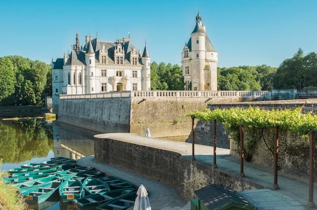 Castello di chenonceau castello medievale rinascimentale in francia