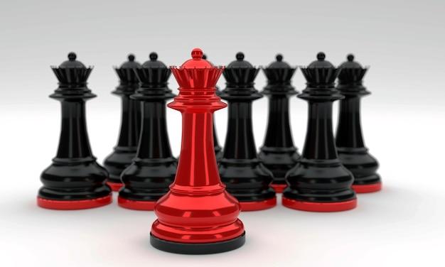 Regina dei pezzi degli scacchi