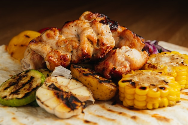 Shashlik di pollo