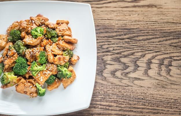 Pollo con broccoli