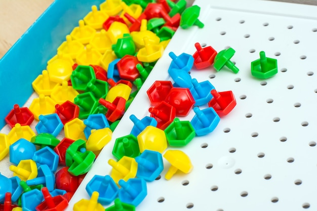 Mosaico per bambini, un gioco per la creatività
