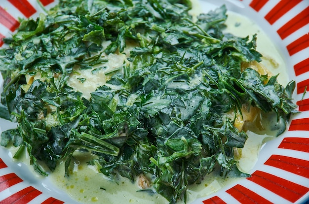 Merluzzo chimichurri - salsa peruviana