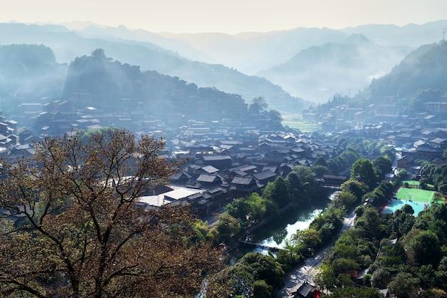 Cina guizhou xijiang miao village