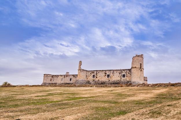 Chinchon rinascimentale castello medievale di condes a madrid in spagna.