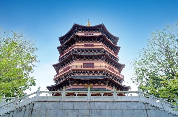 Pagoda cinese di architettura classica