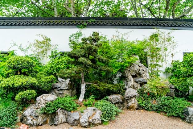Muro da giardino classico cinese