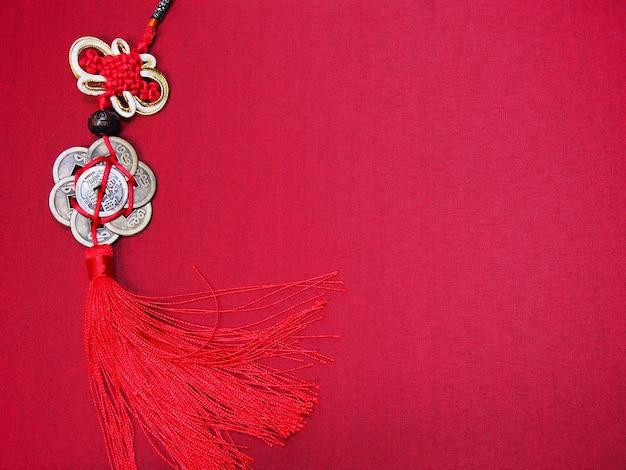 Sfondo di capodanno cinese con spazio di copia.