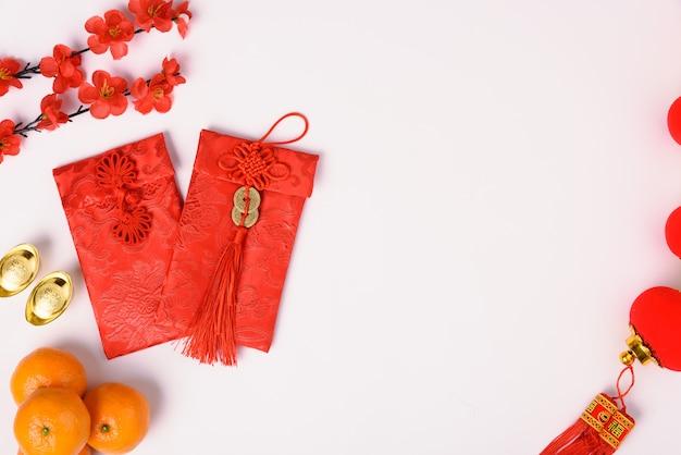 Concetto di festival di capodanno cinese
