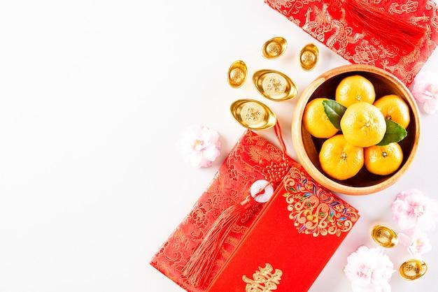 Decorazioni per il festival del capodanno cinese
