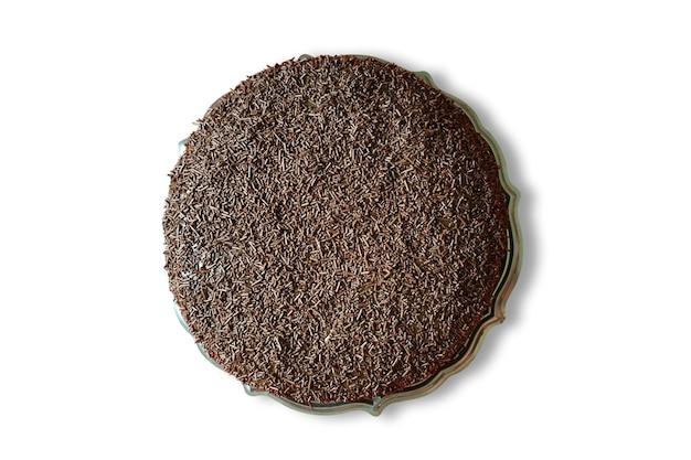 Copertura di torta al cioccolato con brigadeiro Foto Premium