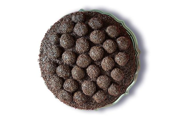 Copertura di torta al cioccolato con brigadeiro