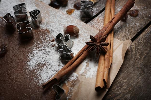 Processo di preparazione dell'alfabeto per biscotti al cioccolato
