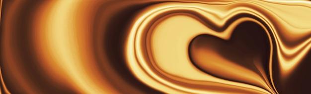 Fondo di lusso di struttura dell'onda del cioccolato