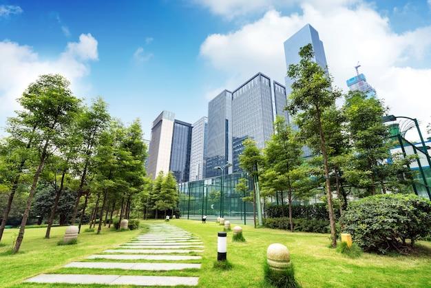Gli edifici moderni di chongqing