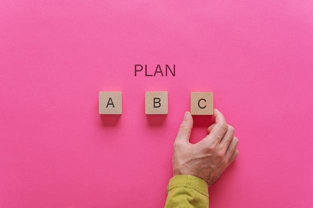 Scegliere il piano c tra tre opzioni