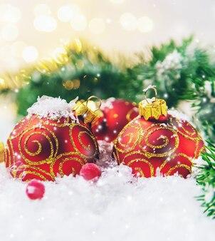 Bellissimo arredamento natalizio.