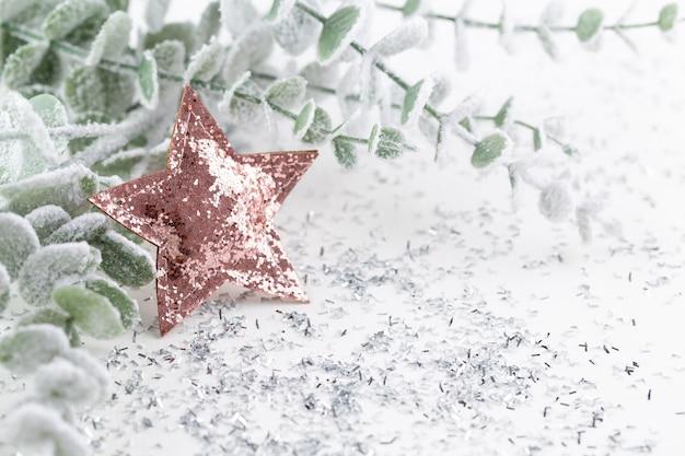 Composizione natalizia addobbi o