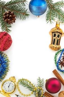 Decorazione natalizia isolata
