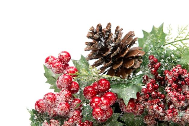 Decorazioni natalizie isolate