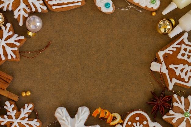 Biscotti di pan di zenzero di natale