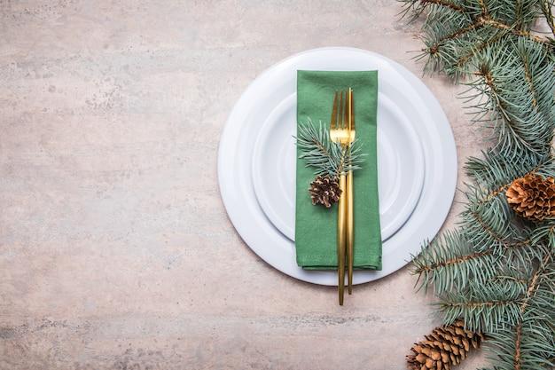 Natale, vacanze e concetto di mangiare
