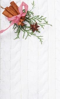 Spezie natalizie, anice e cannella natale