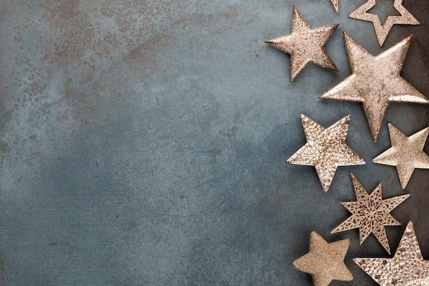 Design della collezione di decorazioni natalizie a stella