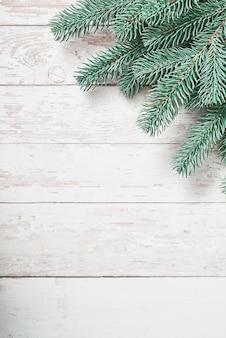 Sfondo albero di natale. cartolina d'auguri di felice anno nuovo.