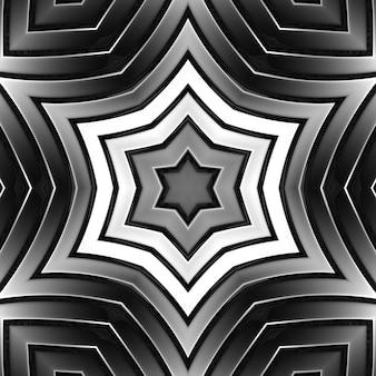 Fondo della striscia di metallo grigio della geometria di colore del cromo