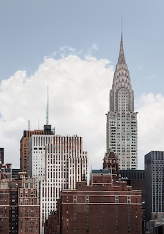 Chrysler building a new york