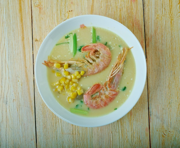 Chupe - stufato di pesce sudamericano/