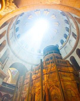 La chiesa del santo sepolcro a gerusalemme, israele