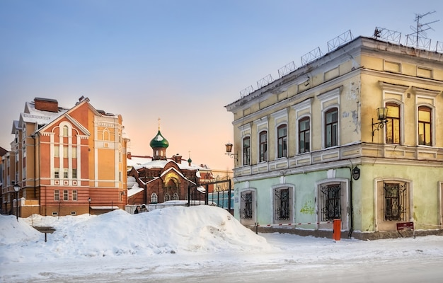 La chiesa dell'icona di kazan della madre di dio
