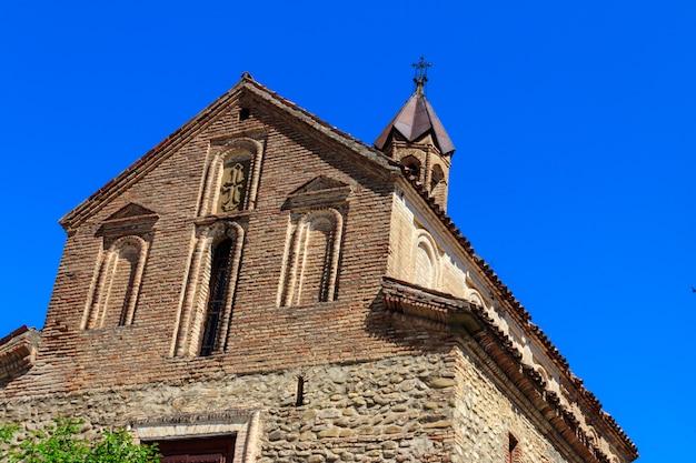 Chiesa di san giorgio a sighnaghi, kakheti, georgia