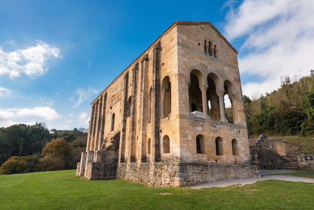 Chiesa santa maria del naranco oviedo asturie spagna