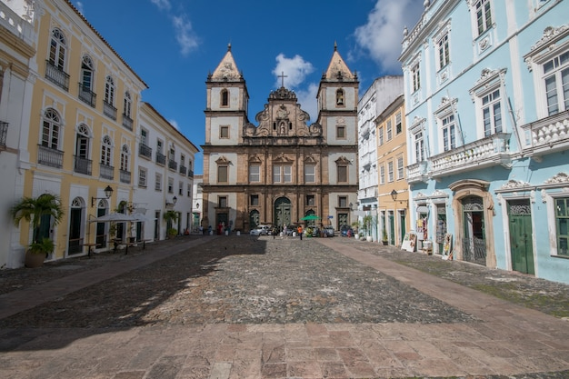 Chiesa di sao francisco a pelourinho salvador bahia brasile.
