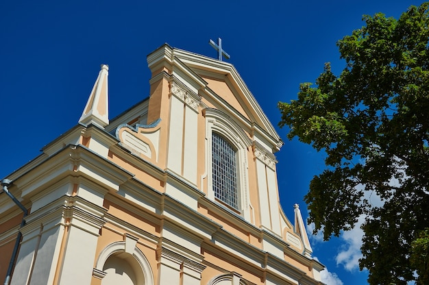 Chiesa di s. nikolay, swir bielorussia, distretto di myadzyel