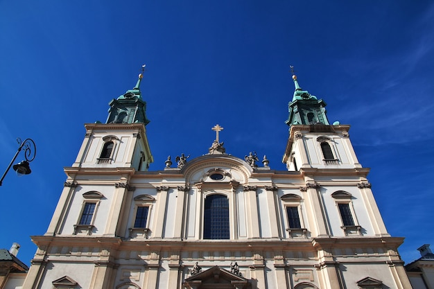 La chiesa di varsavia polonia