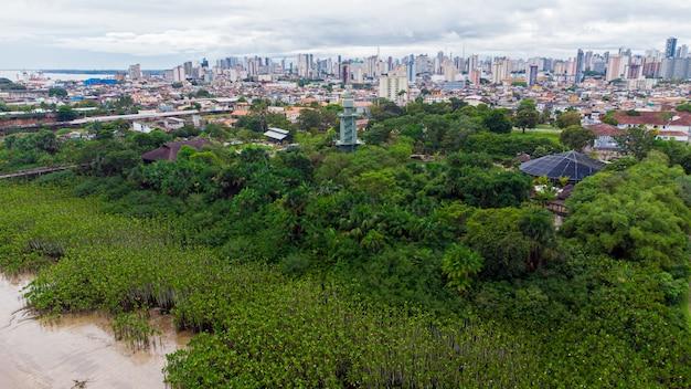 Città di belem do para, a nord del brasile
