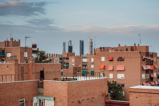 Edifici della città in spagna