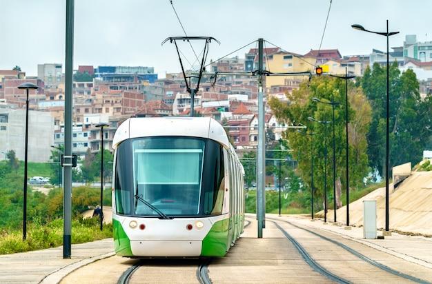 Tram della città di constantine - algeria, nord africa