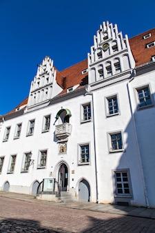 Paesaggio urbano di meissen in germania